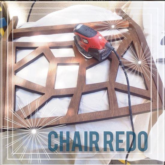 master bedroom redo chair