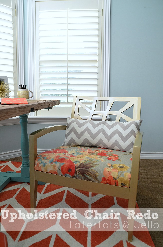 upholstered chair redo