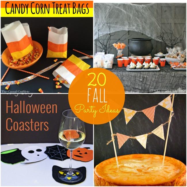 20 fall party ideas