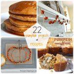 Great Ideas — 22 Pumpkin Projects & Recipes!