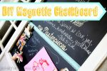 Make a Kitchen Magnetic Chalkboard {Project Fail?}