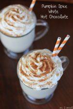 Pumpkin Spice White Hot Chocolate – a Delicious Fall Treat!