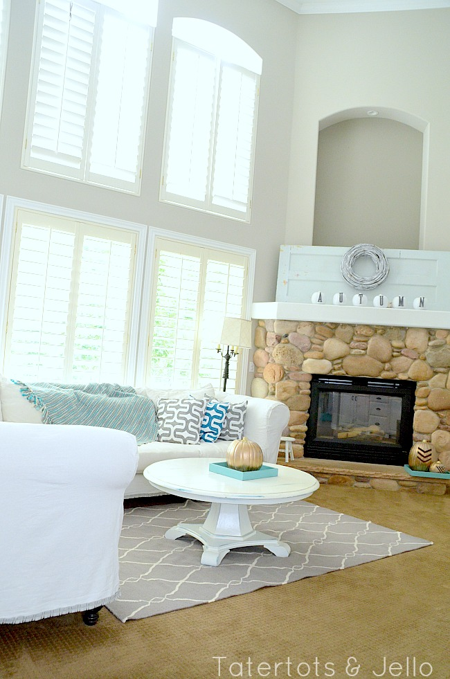 Make A Dropcloth Sofa Sectional Slipcover Tatertots