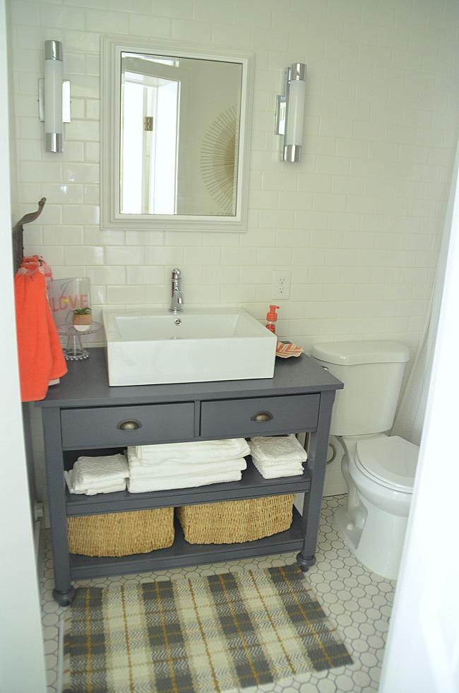 1905 cotage bathroom after