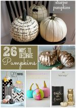 Great Ideas – 26 Pumpkin Decorating Projects!