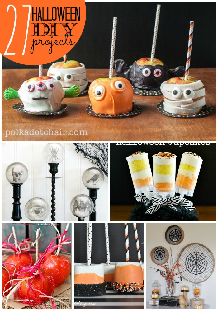 Great Ideas  27 DIY Happy Halloween Projects!  Tatertots and Jello - Christmas Home Decor Ideas Pinterest