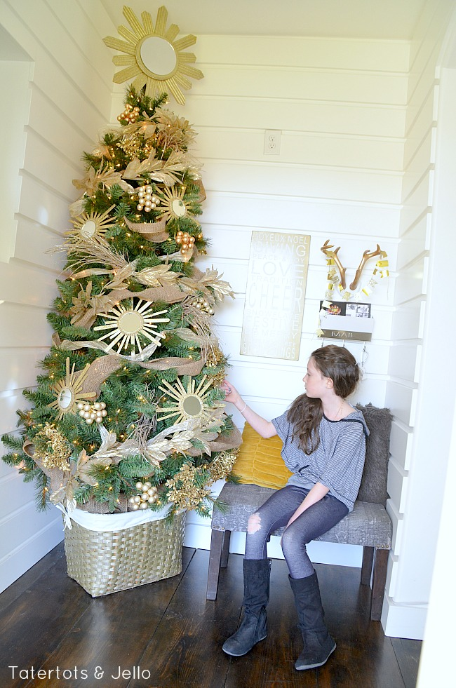 ballard designs inspired tree for the Michaels  Dream Tree Challenge