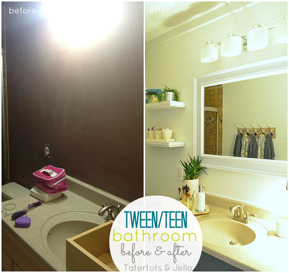 Tween/Tween Bathroom Redo   5 Ways To Create A Space YOUR Teen Will Love!     Tatertots And Jello Pictures