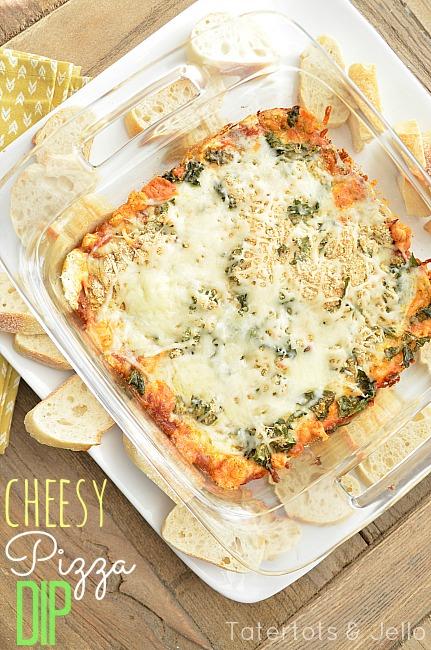 italian pizza dip at tatertots and jello