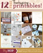 12 Free Thanksgiving Printables!