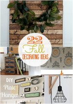 Great Ideas — 22 Beautiful Fall DIY Decorating Ideas!