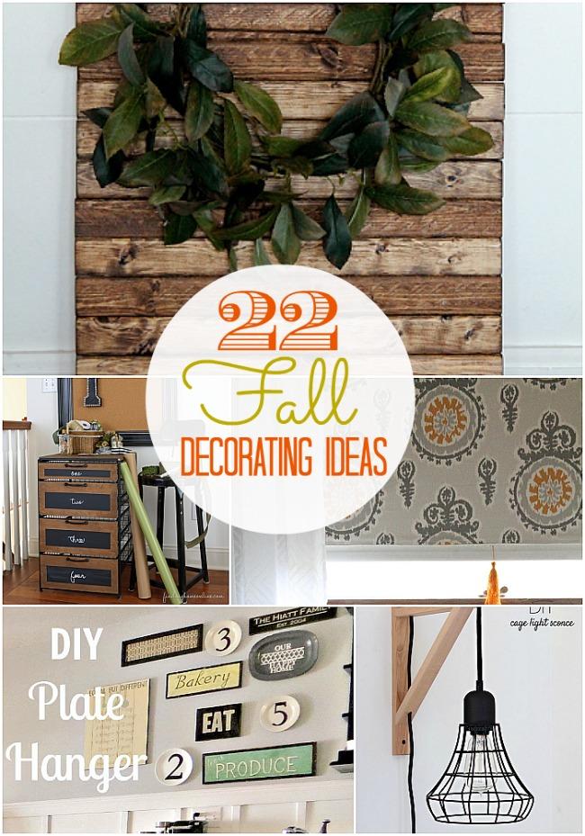 22 fall decorating ideas at tatertots and jello