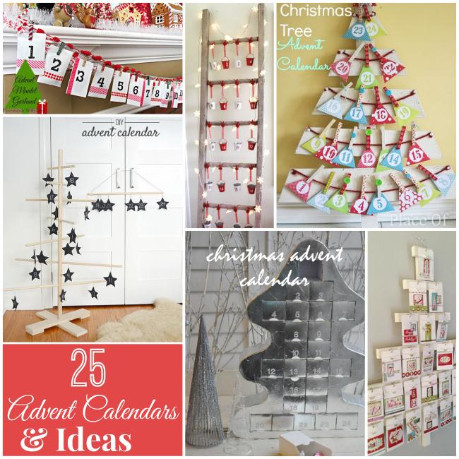25 holiday advent calendar