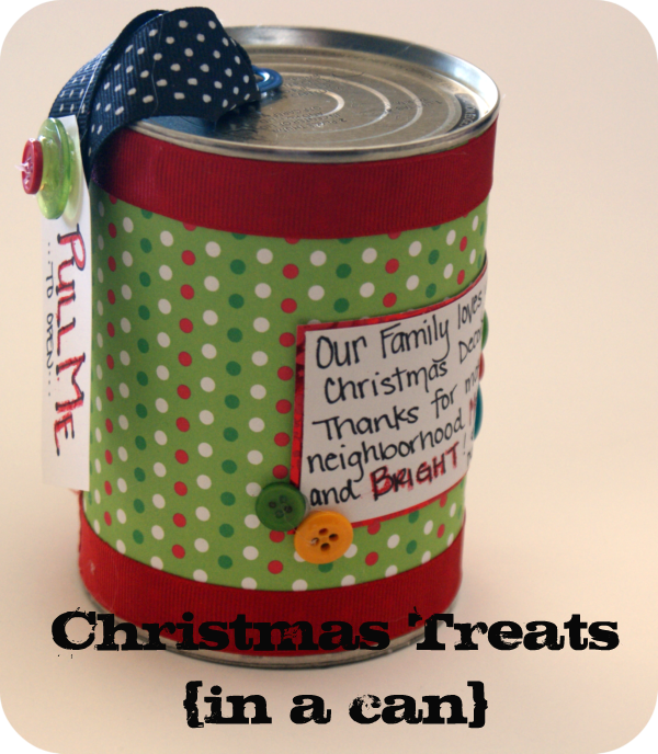 Happy holidays neighbor gift idea christmas candy