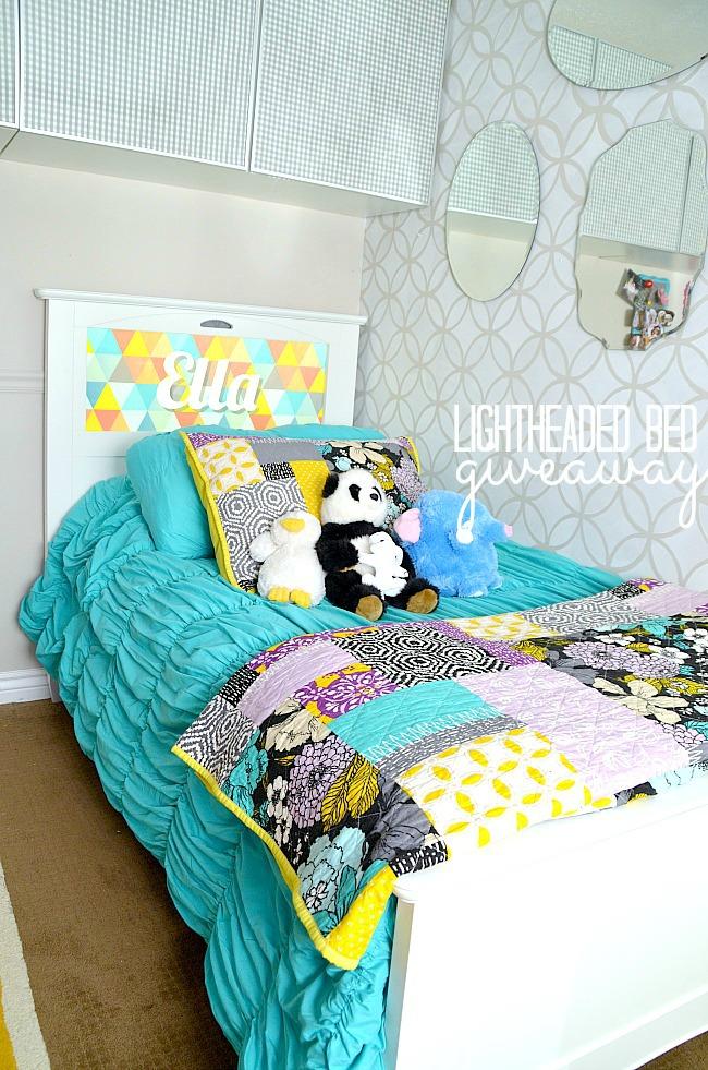 Win a Kids Lightheaded Bed with an Illuminated Headboard! ($600 value) - Tatertots and Jello
