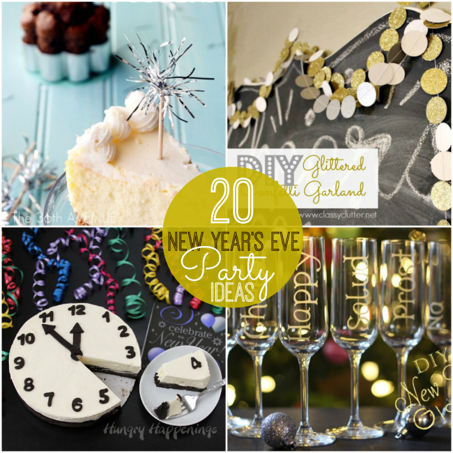Great ideas 20 rockin 39 new year 39 s eve party ideas for New year eve party ideas