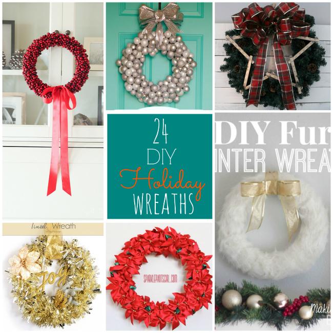 Diy Christmas Decorations Alisha : Great ideas diy holiday wreaths