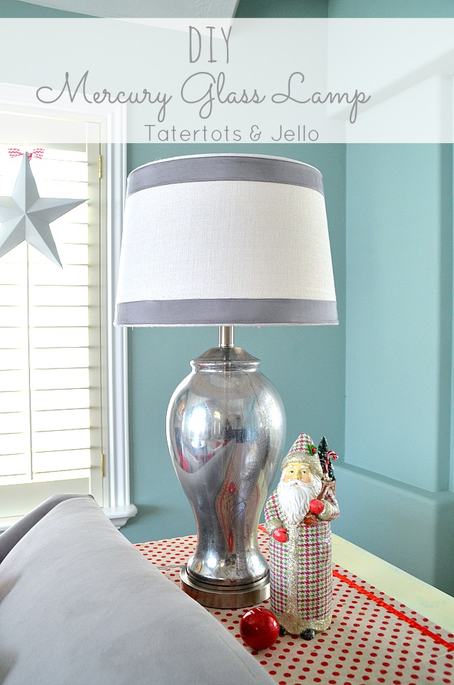 How To Create Faux Mercury Glass With Krylon S Looking Spray Paint Tatertots And Jello