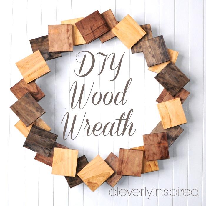 diy-wood-wreath-@cleverlyinspired-5cv