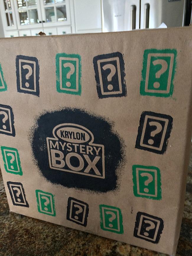 krylon mystery box challenge