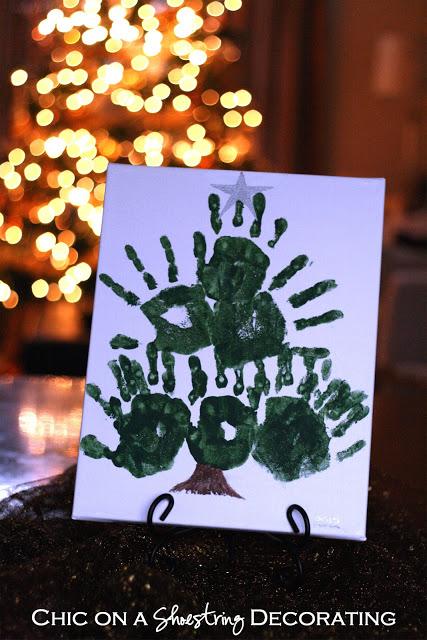 xmas tree art 4