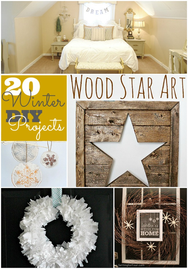 Great Ideas 20 Winter Diy Projects