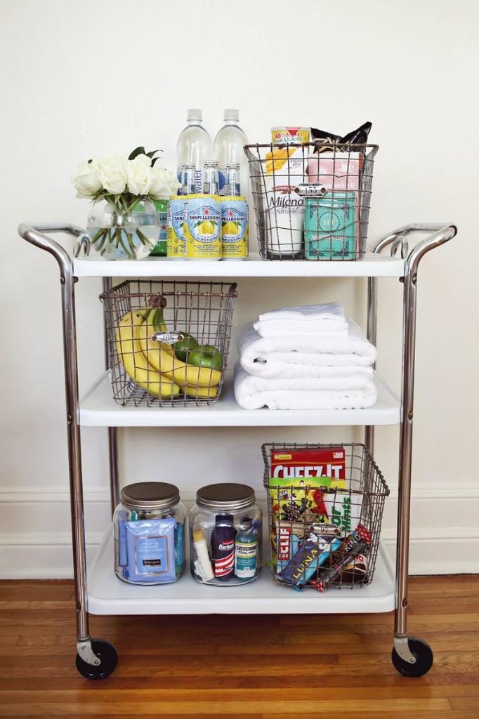 guest room cart