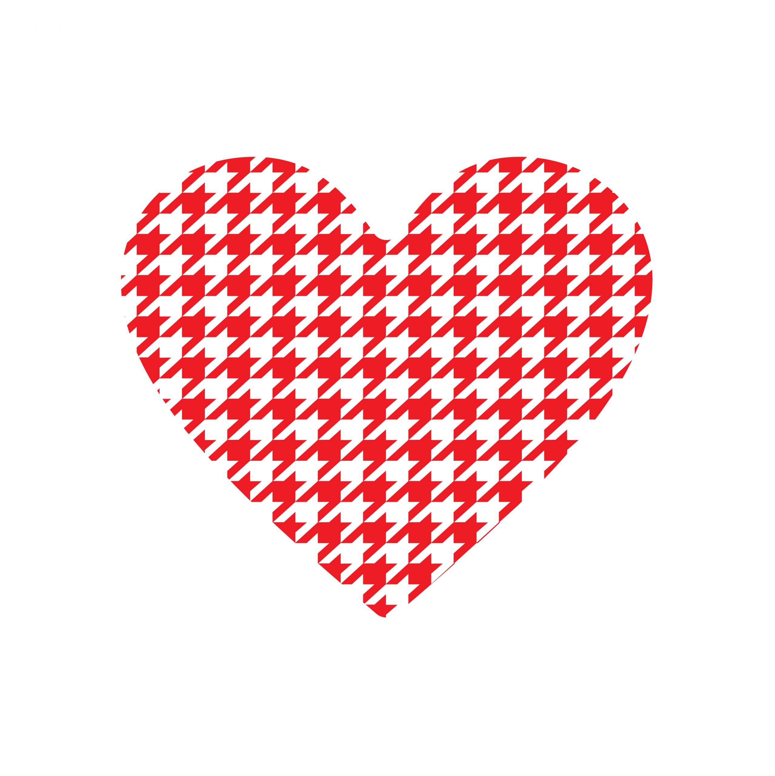 Valentine S Day Patterned Heart Printables Shutterflydecor