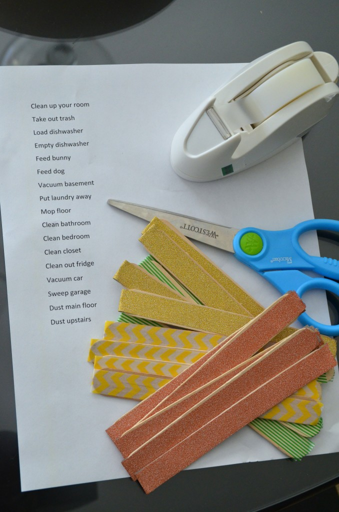 Get Organized In 2014 Make A Popsicle Stick Amp Mason Jar