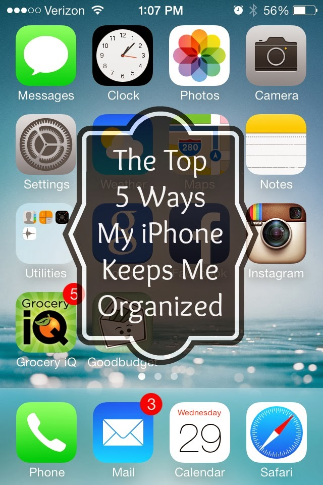 Great ideas 20 ways to get organized in 2014 for Ideas for iphone apps