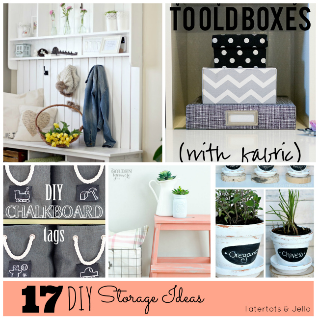 Great Ideas 15 DIY Storage Projects
