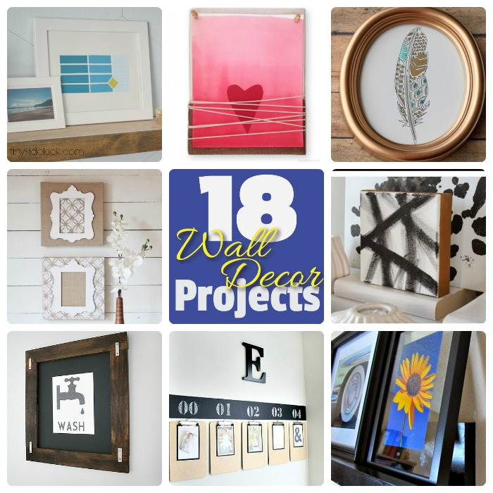 Great Ideas 18 Diy Wall Decor Projects
