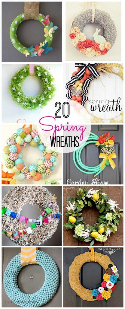 20 diy wreath ideas