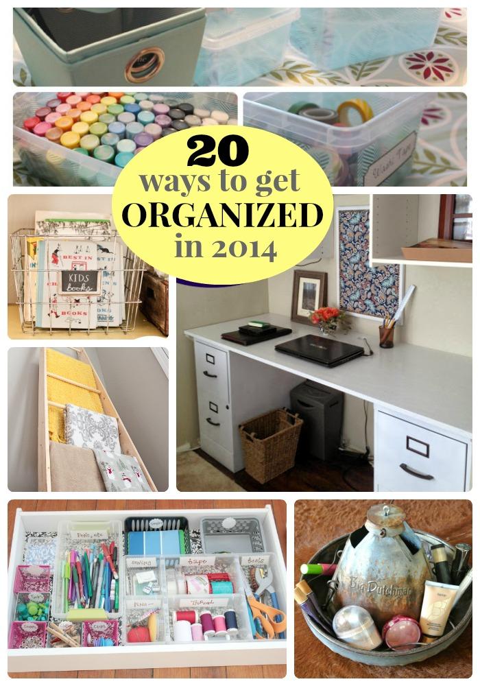 20 ways to get organized in 2014