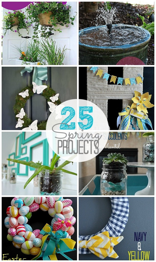 25 spring projects at tatertots and jello
