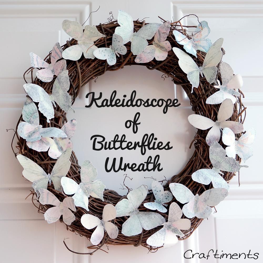 Butterfly wreath 4