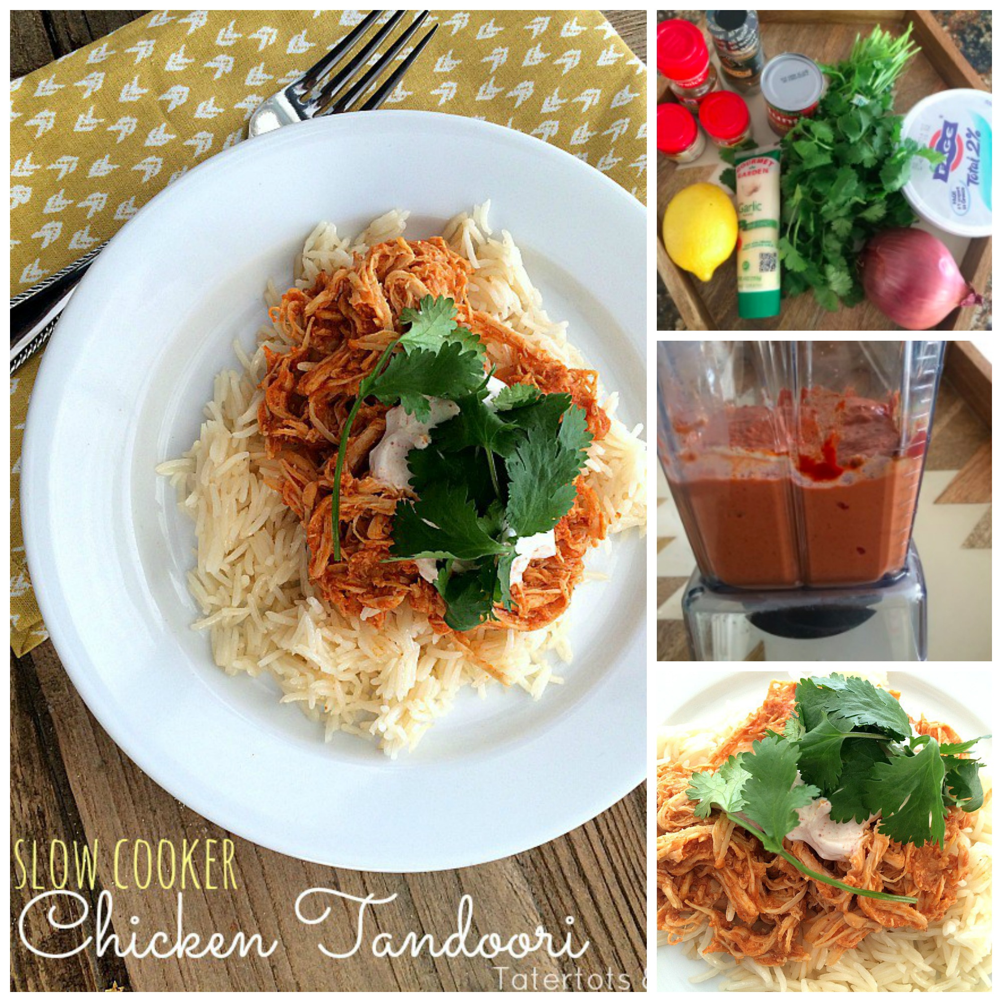 Slow Cooker Chicken Tandoori