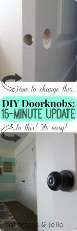 DIY Doorknobs: Secrets to a 15-Minute Update