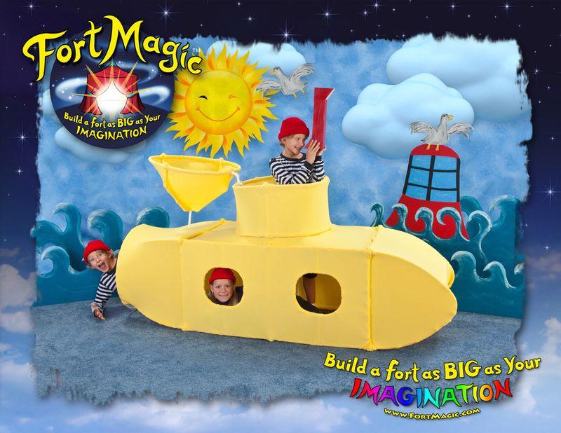 fort magic submarine