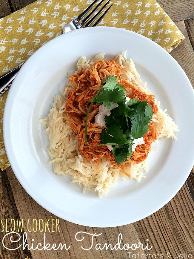 slow cooker chicken tandoori recipe at tatertots and jello