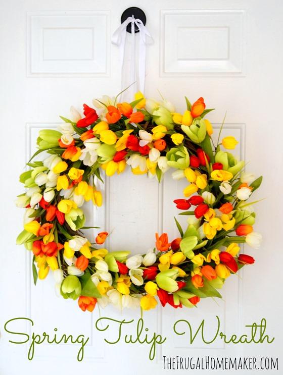 springtulip wreath