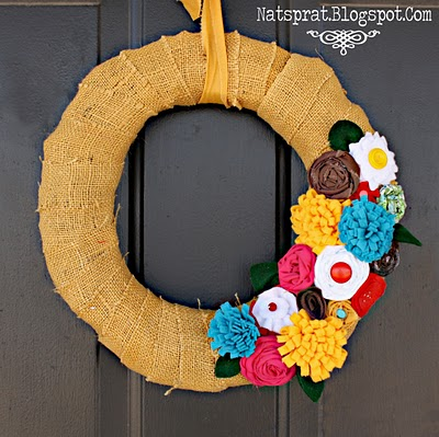 wreath from front