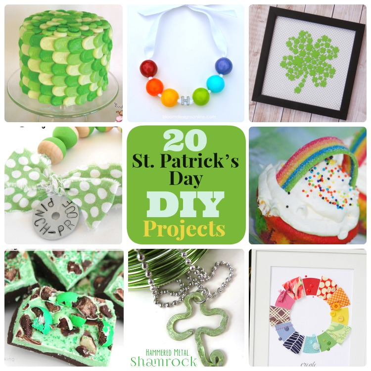 Great Ideas -- 20 St. Patrick's Day DIY Projects