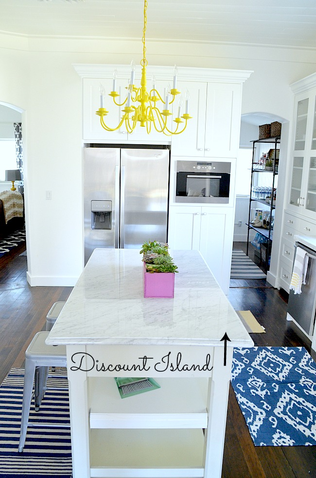 discount island for kitchen remodel at tatertots and jello