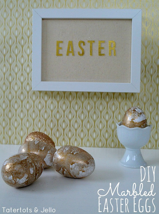 diy marbled easter eggs tutorial at tatertots and jello