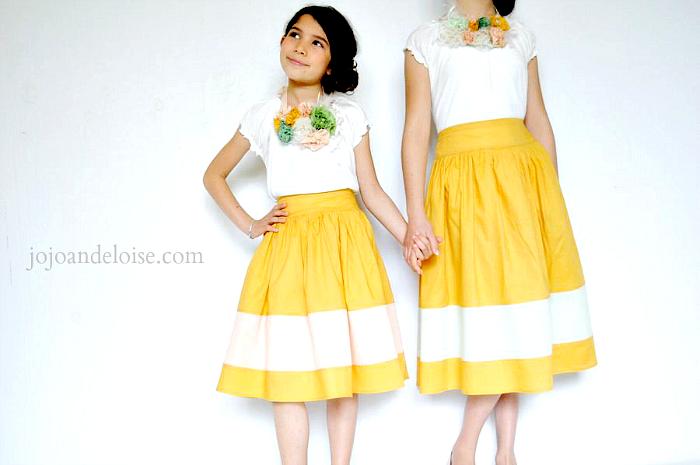 girls-circle-skirt-striped