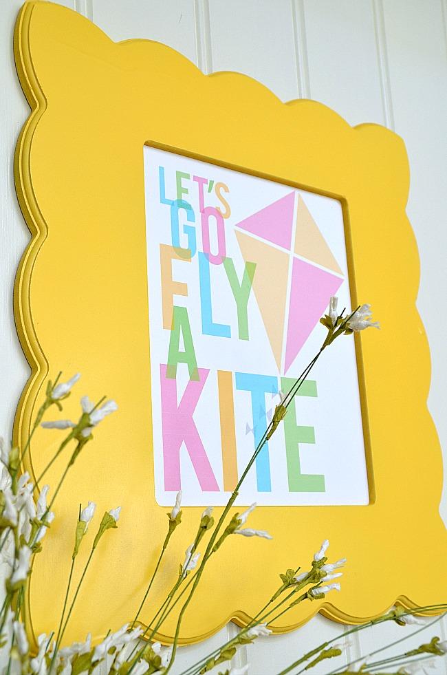lets go fly a kite free printable