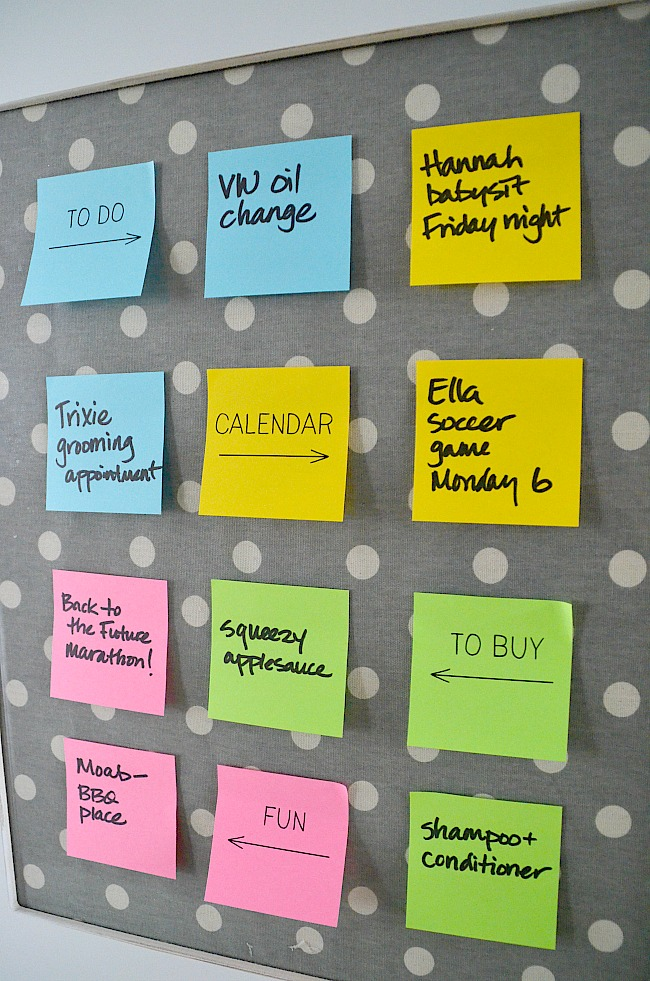 post it notes and evernote organzation station how to