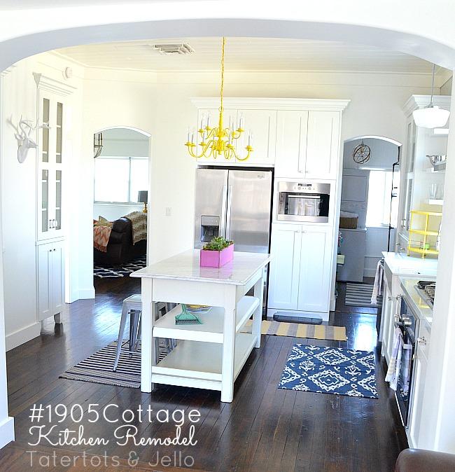 tatertots and jello cottage kitchen reveal