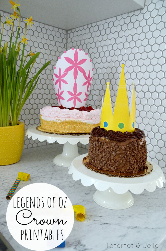 Legends of Oz free crown printables